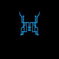 technologie leitung verbindung mikrochip daten tec