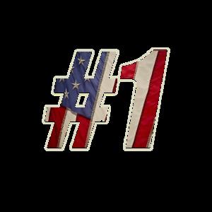 Used Look United States USA #1 Flagge Design