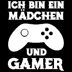 Mädchen Gaming Videospiele Geschenk zocken