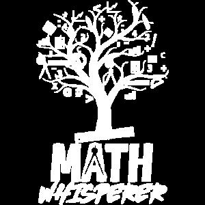 Funny Math Whisperer Shirt I Love Math Teacher Lov