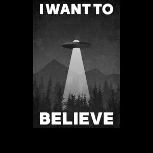 I want to believe I Verschwörung mit Aliens