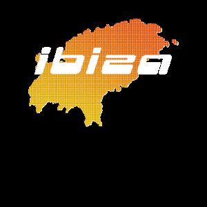 Ibiza Insel Design Grafik