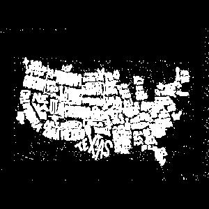 USA Vereinigte Staaten von Amerika Bundesstaaten