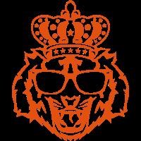 krone koenig tiger kopf logo gesicht 910
