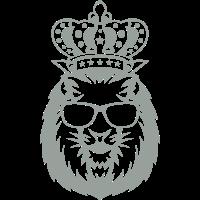 koenig gekroent loewenkopf logo gesicht