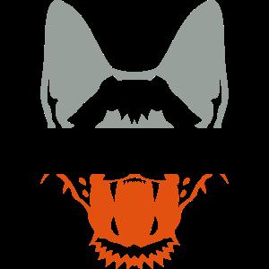 roboterhund portraet tier affe leopard