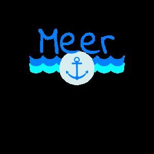 Meer Anker Wasser Boot Schiff Geschenk Idee Wellen
