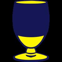 alkohol aperitif glas gelb 1007