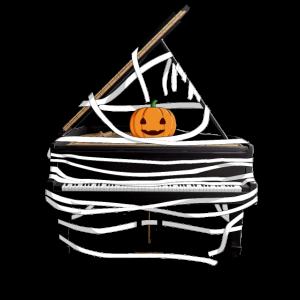 Halloween Klavier Mumie Kostüm