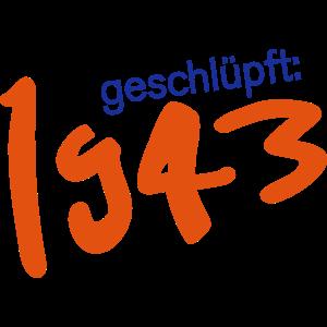 Jahrgang 1943 geschlüpft