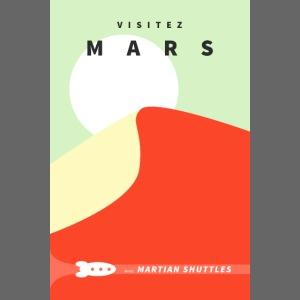 "Poster ""Visitez Mars"""