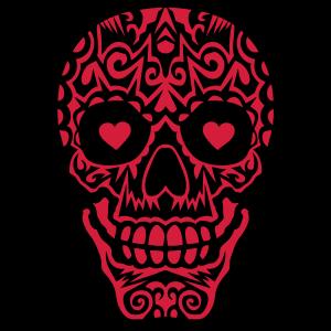 mexikanische tattoo schaedel 10
