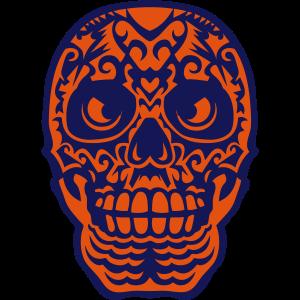 mexikanische schaedel tattoo 10