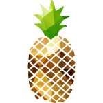 Pineapple (Low Poly)