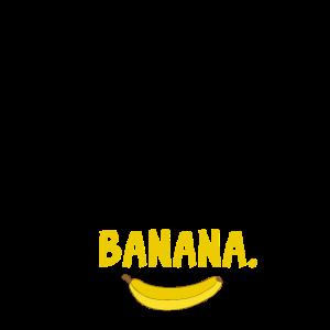 Banane ADHS Abgelenkt Fokus Nerd lustiges Geschenk
