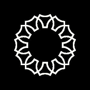 Inneres Zahnrad - Weiß
