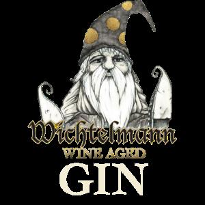 Wichtelmann Wine Aged Gin Desing