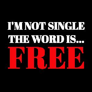 Lustiges T Shirt für Single