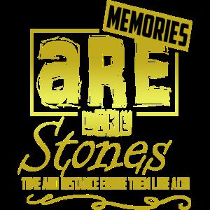 Erinnerungen Erinnerung Geschenk Spruch