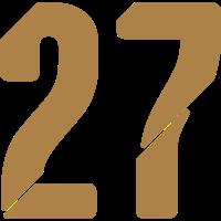 27, Nummern, Zahlen, Pelibol ™