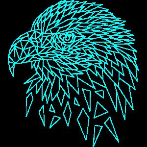Seeadler Adler Polygone