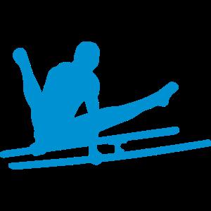 parallel bar gymnastik sportlogo 1