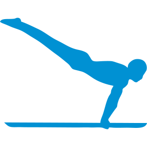 parallel bar gymnastik sportlogo 4