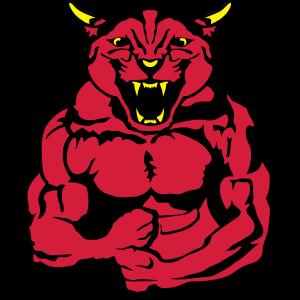 Panther koerper bodybuilding design