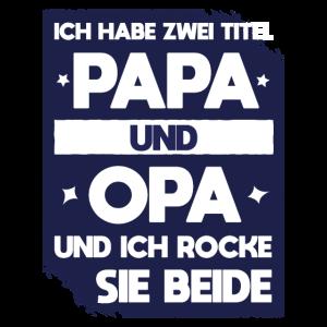 Zwei Titel Papa Opa