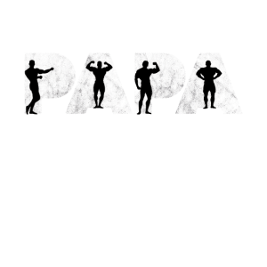 Body Building Gym Fitness Muskeln Papa Vater
