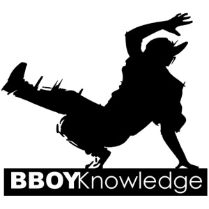 Bboy knowledge noir & blanc