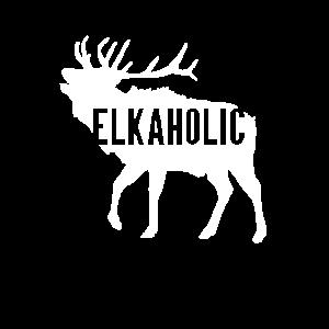 Elkaholic lustiger Elch-Jagdentwurf für Jäger