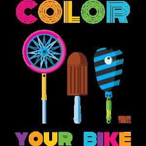 Malen Sie Ihr Fahrrad aus