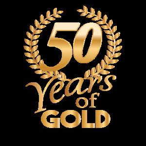 Years of Gold 50 Goldene Jahre Shirt