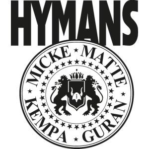 Hymans Merch Svart Tryck