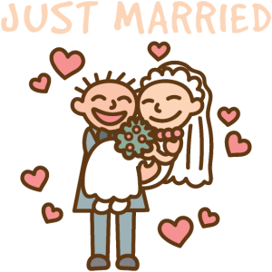 Hochzeitspaar Ehe