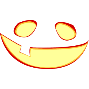 Kürbislaterne - leuchtend / Halloween