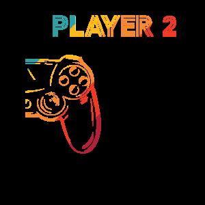 Gaming Player 2 Geschenkidee
