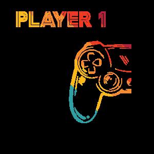 Gaming Player 1 Geschenk