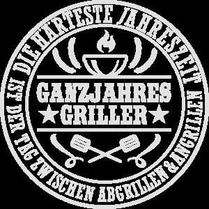 Grill T Shirt Design Ganzjahresgriller