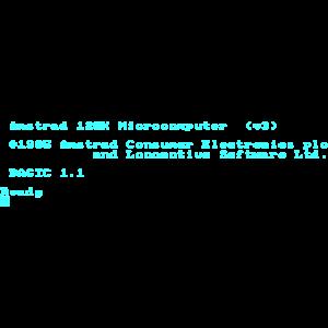 Amstrad CPC 6128 Green Screen BASIC Retro-Computer