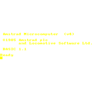 Amstrad 464 6128 PLUS (CPC) Vintage Retro-Computer