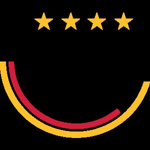 Deutschland (Fußball, Linien) 03