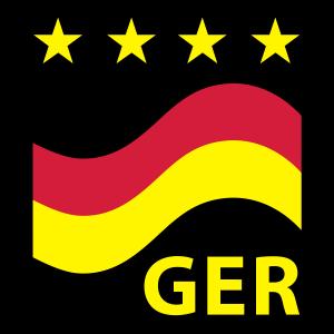 Fußball Deutschland (Quadrat) 03