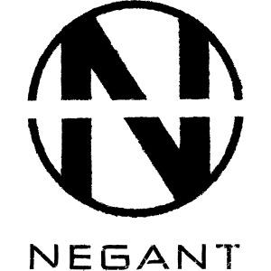 White Negant logo