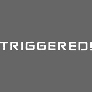 White Negant logo + TRIGGERED!