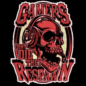 Gamer sterben nicht sie respawnen