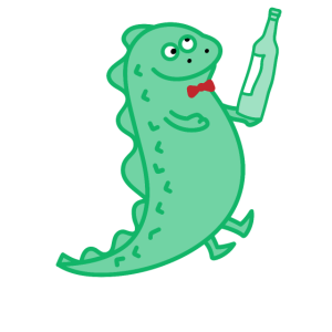 Dino for one (c)