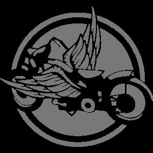 oldtimer motorrad fluegel logo 2