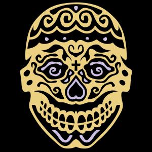 mexikanische schaedel 122 deadhead